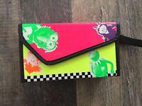 Jim Henson Muppets Vintage Neon Checkers Box 1989 Kermit Gonzo Miss Piggy Animal