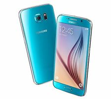 Samsung Galaxy S6 64GB Blue Topaz Unlocked A *VGC* + Warranty!!