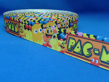 1 metre length of Pacman design Cake/Hair/craft ribbon @ MrsMario's