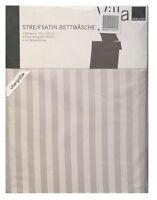 Villa Noblese Microfaser-Seersucker Bettwäsche Set 155x220cm Kreise-Muster