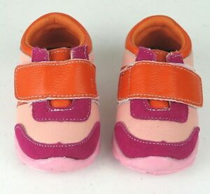 Baby & Toddler's Leather Sneakers Shoes Rubber Sole Size 3-9 New