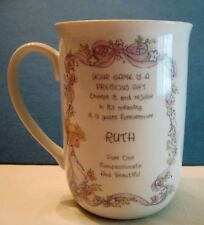 Ruth The Enesco Precious Moments Collection Personalized Mug for Ruth