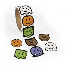 300 Monster Stickers Halloween TRICK OR TREAT loot bags FRANKENSTEIN GHOST WOLF