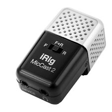 IK Multimedia iRig Mic Cast 2 Mobile Device Podcasting Microphone
