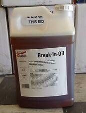 SCHAEFFER'S Break-In Oil 30w 2.5 Gallon Jug(10qts) Free Shipping Continental US