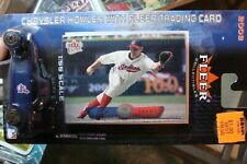 Cleveland Indians Jim Thome Fleer 2002 Chrysler Howler Trading Card diecast 2002