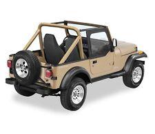 Bestop Upper Door Skins Set Black Denim For 88-95 Jeep Wrangler  #53120-15