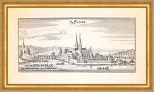 Seonn Seeon Benediktinerkloster Schloss Seeoner See Kupferstich Merian 0387