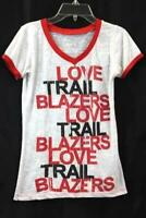 Step Ahead Junior Women T-Shirt White Red Black Size Small