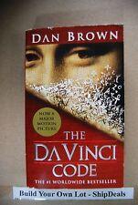 Paperback Novel by Dan Brown The Da Vinci Code *ShipDeals* Build-A-Lot