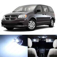17 x White LED Interior Light Package For 2008 - 2016 Dodge Caravan + PRY TOOL