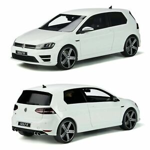 1:18 VW GOLF 7 R WHITE MODEL CAR OTTO OT883 - NEW