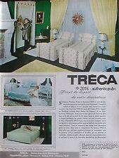 PUBLICITE TRECA MATELAS SOMMIER LITERIE ACCOTOIR DE 1965 FRENCH AD PUB VINTAGE