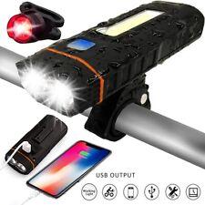 USB Fahrradlampe LED Fahrrad Licht Fahrradbeleuchtung Fahrad Scheinwerfer 500 LM
