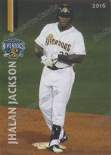 2016 Charleston RiverDogs Jhalan Jackson RC Rookie NY Yankees