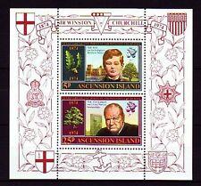 Ascension 1974 ** Bl.7 Geburtstag Birthday Winston Churchill [sq3401]