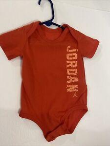 NIKE Air JORDAN 1pc Baby Infant Bodysuit Size 6-9 Months