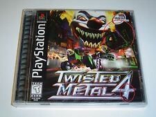 TWISTED METAL 4 SONY PLAYSTATION USA NTSC BLACK LABEL Read Description BRAND NEW