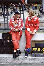 James Hunt & Niki Lauda F1 Portrait 1977 Photograph 4