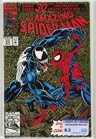 Amazing Spider-Man # 375 (1993) 1st Ann Weying Gold Foil Cvr Venom FREE SHIPPING