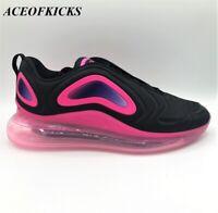 Nike Air Max 720 Black Pink Blast US SZ 11 Men's AO2924-005