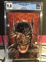 Batman Who Laughs #1 CGC 9.8 Tony Daniel Torpedo Comics Edition C. DC Comics
