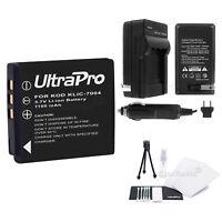 KLIC-7004 Battery + Charger + BONUS for Kodak EasyShare M1033 M1093 M2008 V1073