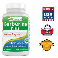 Best Naturals Berberine Plus 1000 mg/Serving 120 Capsules - (non-gmo)