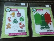 Holiday Paper Cutting Dies by io