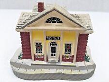 "Rhodes Studios ""The Bank"" Miniature Bldg Rockwell's Main St 1991"