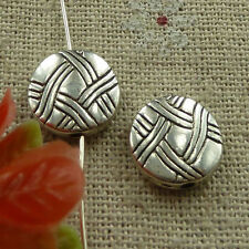 free ship 70 pieces tibetan silver nice spacer beads 12mm #2647