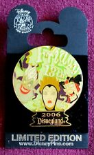 Disneyland Crystal Ball Villains Friday the 13Th Le 1000 Pin - Disney Pins