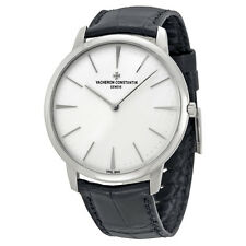 Vacheron Constantin Patrimony Grand Taille White Gold Black Alligator Mens
