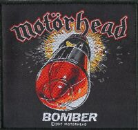 Motorhead ' Bomber ' Woven Patch