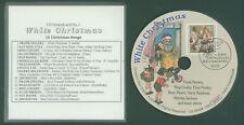 """1. CD-Soundcard """"White Christmas"""" / CD mit Briefmarke und Sonderstempel 1992"""