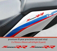 S1000 RR Decals Stickers premium 10 year Vinyl FITS BMW (2 pack) 2 colour