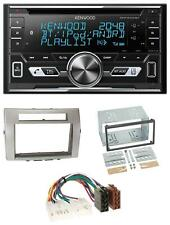 Kenwood AUX CD 2DIN MP3 Bluetooth USB Autoradio für Toyota Corolla Verso 04-09 s