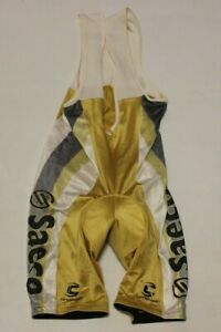 Cycling Cannondale Saeco Bib Shorts Size-L NLV