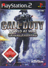 Call of duty-World at War-final fronts (PlayStation 2)