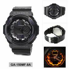 *BRAND NEW* Casio G-Shock Men's Analog-Digital Sport Black Watch GA150MF-8A