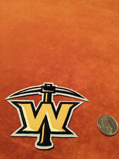 Texas Wildcatters Stitched Shoulder ECHL Hockey Crest Patch Logo 3.5 by 4 inches