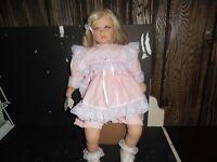"Lloyd Middleton Royal Vienna Collection LITTLE PRINCESS  20"" Doll 637/750"
