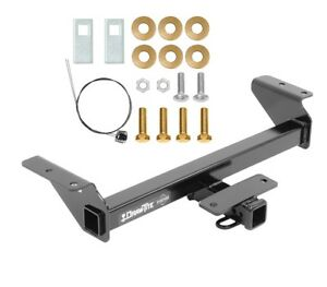 """Trailer Tow Hitch For 16-21 Toyota Tacoma All Styles Class 3 2"""" Towing Receiver"""