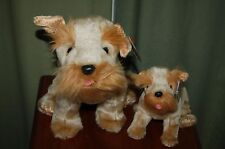 Schnitzel the German Schnauzer DOG  - Ty Beanie Baby and BUDDY -  MWMT