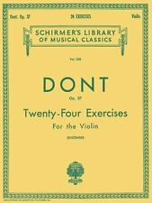 Twenty-Four Exercises for the Violin (1986)LPb