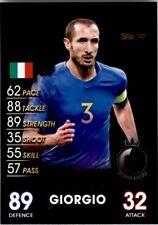 Topps Match Attax 101 - Giorgio Chiellini Italy (World Stars) No. 157