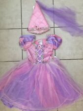 NWT! DISNEY WORLD Princess MINNIE MOUSE Fancy Dress COSTUME XL 14 & Hat