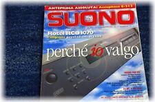 Rivista Suono n.343 aprile 2002