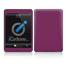 iPad Mini Skin - Purple Carbon Fibre skin by iCarbons