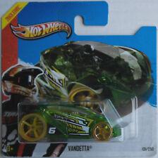 Hot Wheels Vandetta grün transparent HW Racing Neu/OVP Auto Spielzeugauto Mattel